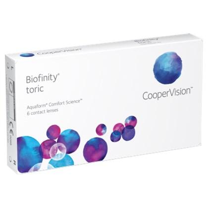 Lentes de Contato Biofinity Tóric