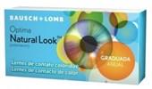 Lentes de Contato Coloridas Natural Look Anual com Grau