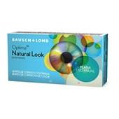 Lentes de Contato Coloridas Natural Look Anual sem Grau