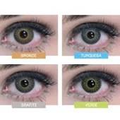 Lentes de Contato Coloridas Natural Vision Anual sem Grau