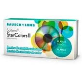 Lentes de Contato Coloridas Soflens Star Colors II Mensal sem Grau