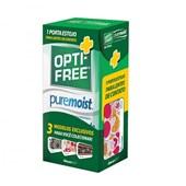 Opti Free Pure Moist 120ml + Estojo colecionavel
